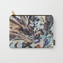 Bathing Grackle Carry-All Pouch