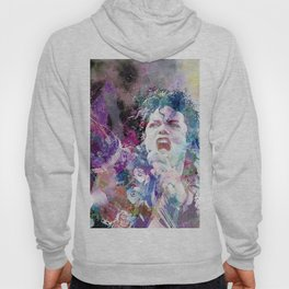 Watercolor portrait Hoody