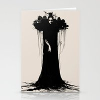 witch Stationery Cards featuring witch by Daria