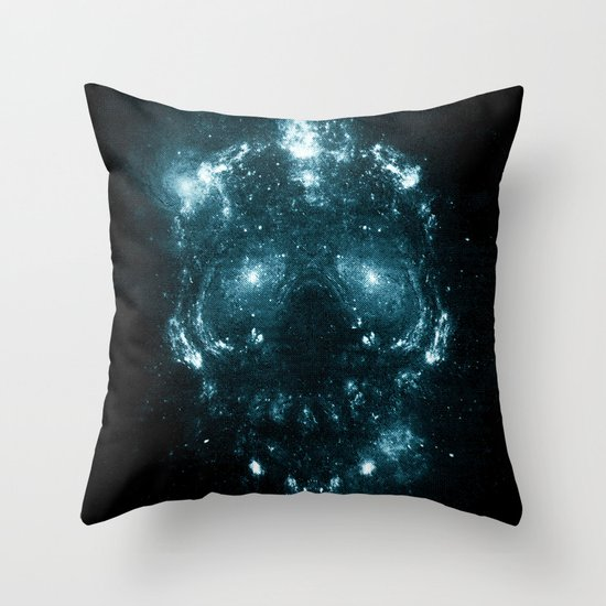 Lost Galaxy Throw Pillow