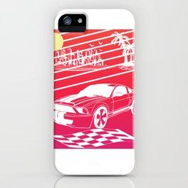 Japanese Motorsports Japan Tuning Car Car Engine iPhone Case