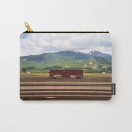 Train Car. Carry-All Pouch