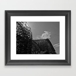 The same ups and downs Framed Art Print