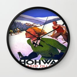 Vintage poster - Le Hohwald Wall Clock