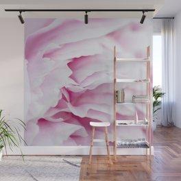 Pink Flower Petals Wall Mural