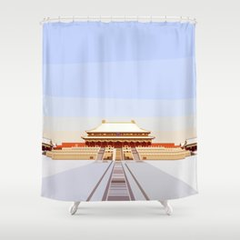 Forbidden City, Beijing, China Shower Curtain