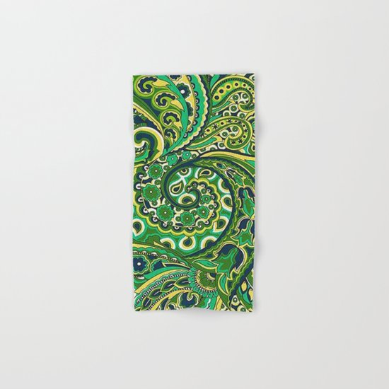 Floral Paisley Pattern 04 Hand & Bath Towel