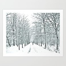 winter symphony Art Print