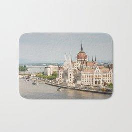 Budapest Parliament Bath Mat