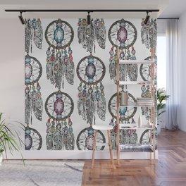 gemstone dreamcatcher Wall Mural