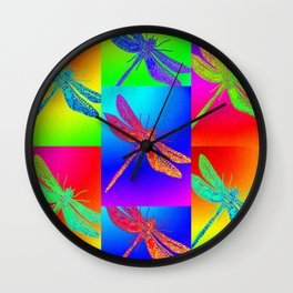 Flying colour Wall Clock