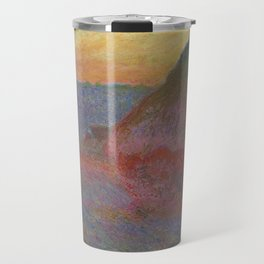 "Claude Monet ""Haystack (Meule)"" Travel Mug"