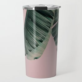 Banana Leaf Blush Travel Mug