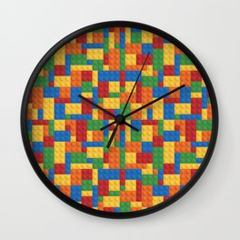 LegoDude Wall Clock