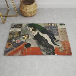 Marc Chagall, The Birthday 1915 Artwork, Posters Tshirts Prints Bags Men Women Kids Rug