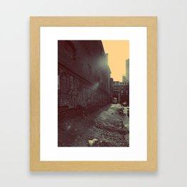 Unknown side Framed Art Print