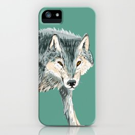 Totem Polar wolf iPhone Case
