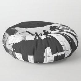 Clockworkorange Floor Pillow