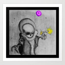 Death in Space Art Print