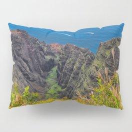 Na Pali Coast Awaawapuhi Valley Pillow Sham