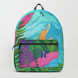 Tropical Pool Adventure Backpack