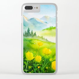 Spring scenery #5 Clear iPhone Case
