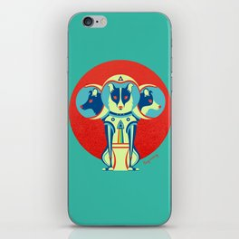 Spacedogs iPhone Skin