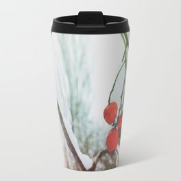 in winter Travel Mug