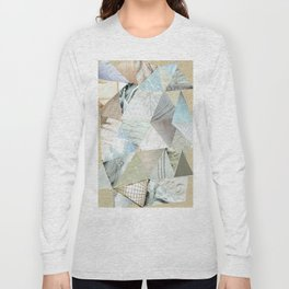 Collage - Like White on Rice Long Sleeve T-shirt
