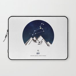 Astrology Leo Zodiac Horoscope Constellation Star Sign Watercolor Poster Wall Art Laptop Sleeve