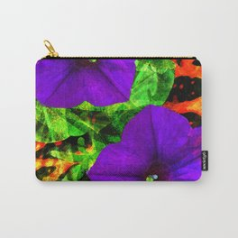 Violet Smiles Carry-All Pouch
