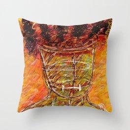 Mental Captivity - Borderline Personality Disorder Throw Pillow