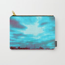 High Rise and Blue Skies Carry-All Pouch