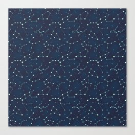 Constellation Pattern (A) Canvas Print