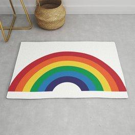 70's Love Rainbow Rug