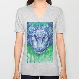 Blue Gator Unisex V-Neck
