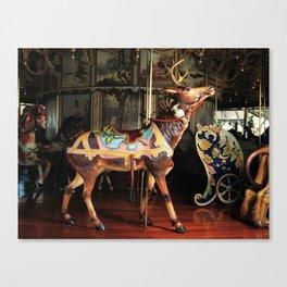 Outside Row Deer Canvas Print