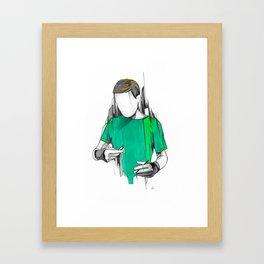 Alexis Framed Art Print