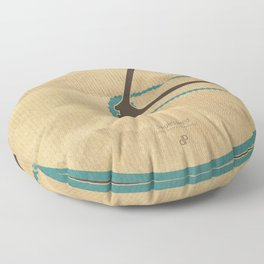 Singlespeed Floor Pillow