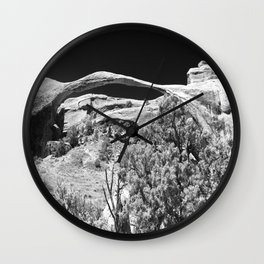 Amazing Landscape Arch  Wall Clock