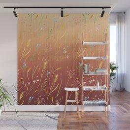 Dancing Grass in the Gentle Breeze Wall Mural