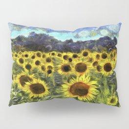 Sunflowers Van Goth Pillow Sham