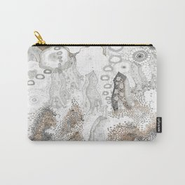 """""""Gray"""" illustration Carry-All Pouch"""