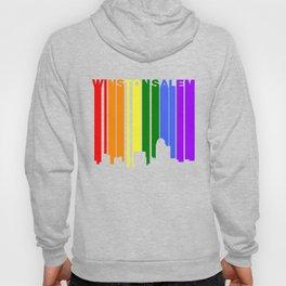 Winston-Salem North Carolina Gay Pride Skyline Hoody