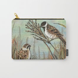 Reed Buntings Carry-All Pouch