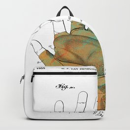 Golf Glove Patent 1955 Backpack