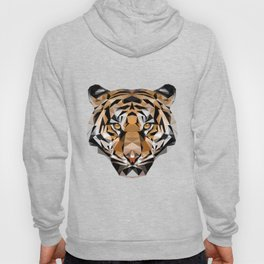 Low Poly Tiger Hoody