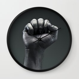 Protest Hand Wall Clock