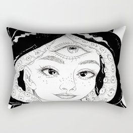 The Maddest Woman Rectangular Pillow