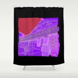 borough market Shower Curtain